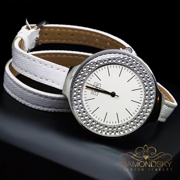 """Rokas pulkstenis """"Sentella"""" ar Swarovski™ kristāliem"""