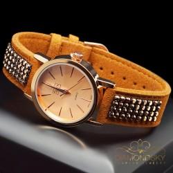 """Rokas pulkstenis """"Jupiters"""" ar Swarovski™ kristāliem"""