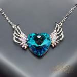 """Kulons """"Eņģeļa Spārni"""" ar Swarovski™ kristāliem"""