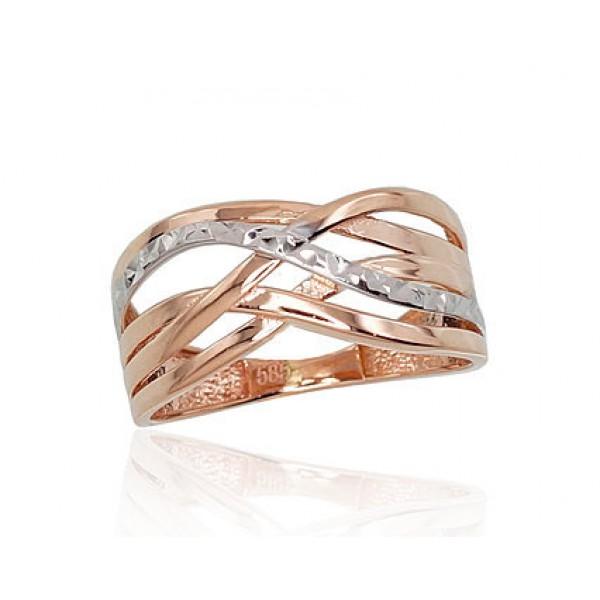 "Zelta gredzens ""Alpīna V"" no 585 proves sarkanā zelta"