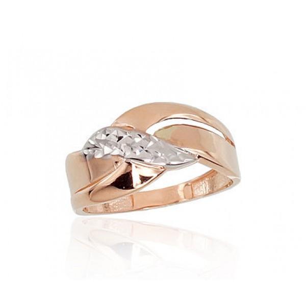 """Zelta gredzens """"Alpīna VIII"""" no 585 proves sarkanā zelta"""