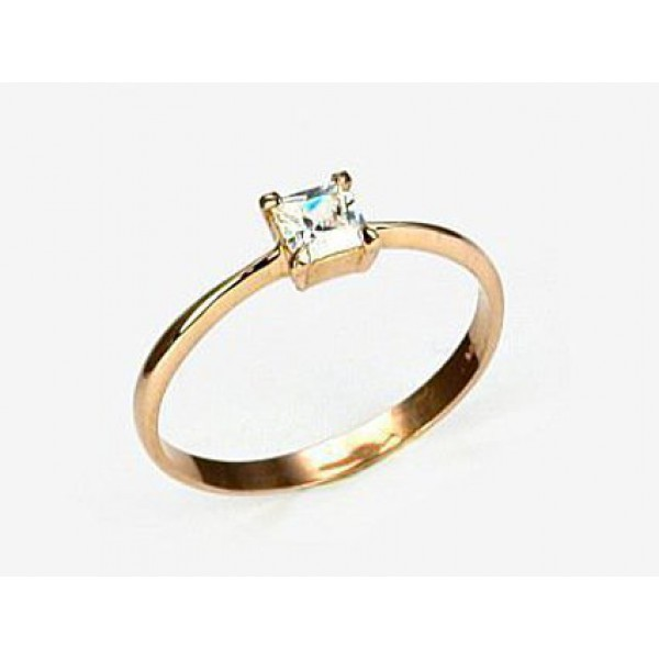 """Zelta gredzens """"Arabel II"""" no 585 proves sarkanā zelta"""