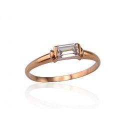 """Zelta gredzens """"Arabel"""" no 585 proves sarkanā zelta"""