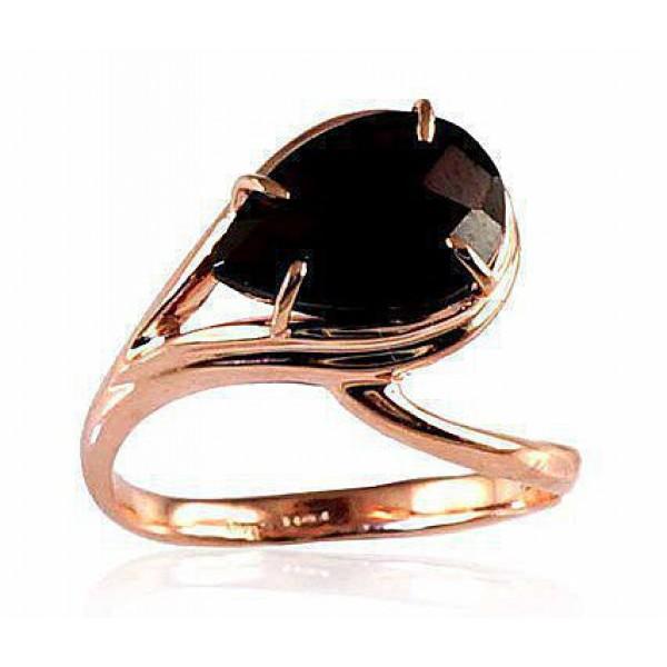 "Zelta gredzens ar granātu ""Tereza"" no 585 proves sarkanā zelta"