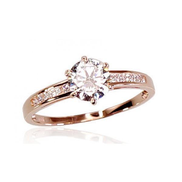 """Zelta gredzens """"Junona Gold VIII"""" no 585 proves sarkanā zelta"""