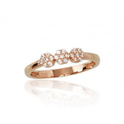 "Zelta gredzens ""Grācija"" no 585 proves sarkanā zelta"