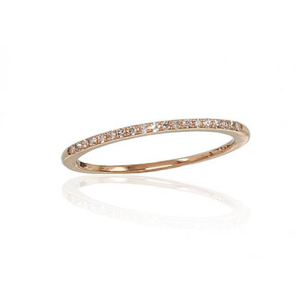 "Zelta gredzens ar briljantiem ""Babilona VI"" no 585 proves sarkanā zelta"