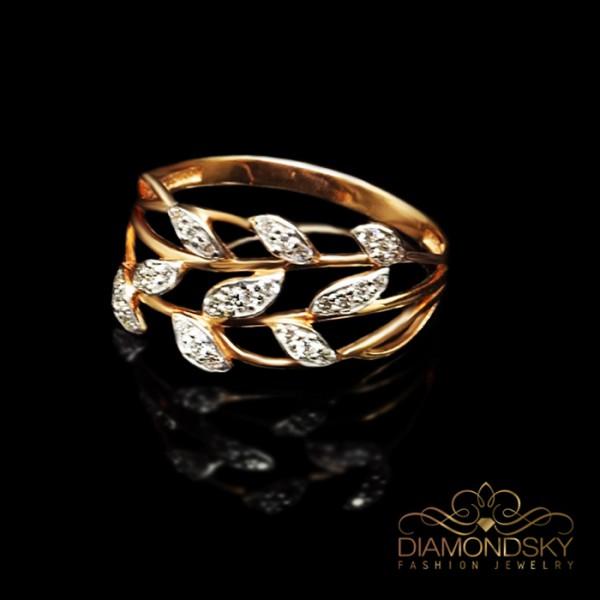 "Zelta gredzens ""Cēzars"" no 585 proves sarkanā zelta"
