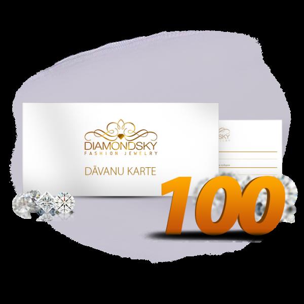 Diamond Sky dāvanu karte 100 eiro vērtībā