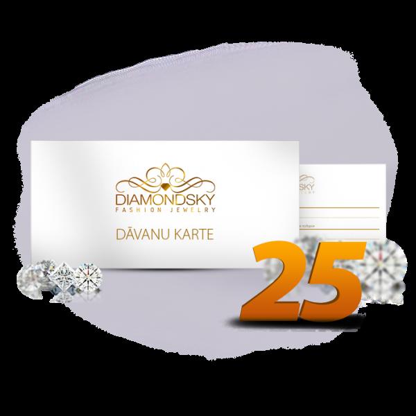 Diamond Sky dāvanu karte 25 eiro vērtībā