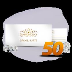 Diamond Sky dāvanu karte 50 eiro vērtībā