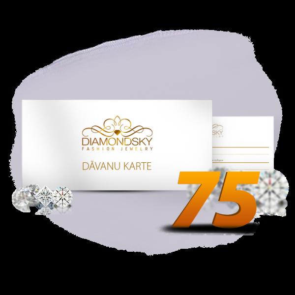 Diamond Sky dāvanu karte 75 eiro vērtībā