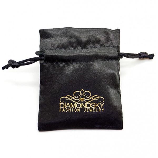Satīna maisiņš ar Diamond Sky logotipu