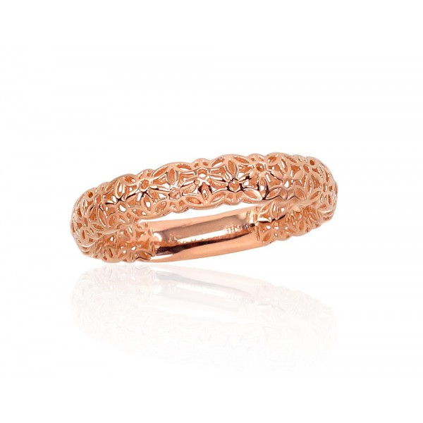 "Zelta gredzens ""Pavasara Raksts"" no 585 proves sarkanā zelta"