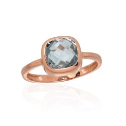 "Zelta gredzens ""Diana V"" no 585 proves sarkanā zelta"