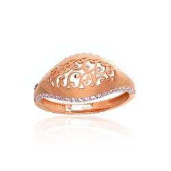 "Zelta gredzens ""Versaļa V"" no 585 proves sarkanā zelta"