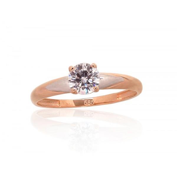 "Zelta gredzens ""Junona Gold XXXI"" no 585 proves sarkanā zelta"