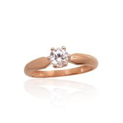 """Zelta gredzens """"Jaunā Klasika X"""" no 585 proves sarkanā zelta"""