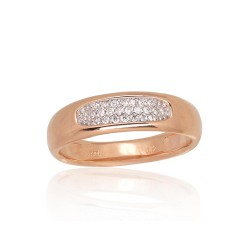 """Zelta gredzens ar briljantiem """"Tokija XXXIII"""" no 585 proves sarkanā zelta"""