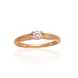 """Zelta gredzens """"Jaunā Klasika XIII"""" no 585 proves sarkanā zelta"""