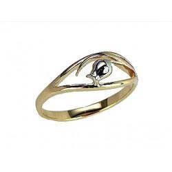 "Zelta gredzens ""Zelta Zivtiņa"" no 585 proves sarkanā zelta"