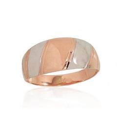 """Zelta gredzens """"Ariele"""" no 585 proves sarkanā zelta"""