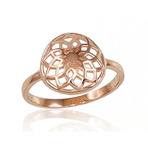 """Zelta gredzens """"Zelta Saule"""" no 585 proves sarkanā zelta"""