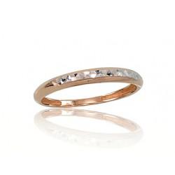 """Zelta gredzens ar topāzu """"Burvīgā Izcilība III"""" no 585 proves sarkanā zelta"""
