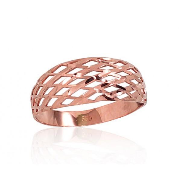 "Zelta gredzens ""Jenavi"" no 585 proves sarkanā zelta"