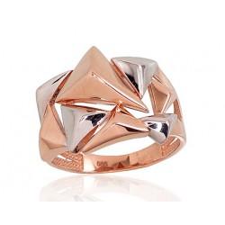 """Zelta gredzens """"Tesseract"""" no 585 proves sarkanā zelta"""