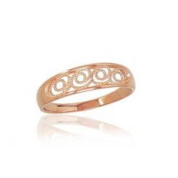"Zelta gredzens ""Zelta Raksts XIV"" no 585 proves sarkanā zelta"