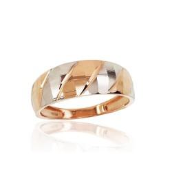 """Zelta gredzens """"Otton III"""" no 585 proves sarkanā zelta"""
