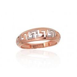 """Zelta gredzens """"Artemīda III"""" no 585 proves sarkanā zelta"""