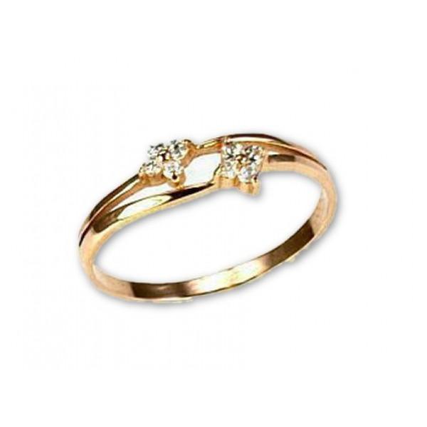 """Zelta gredzens """"Zelta Zieds II"""" no 585 proves sarkanā zelta"""