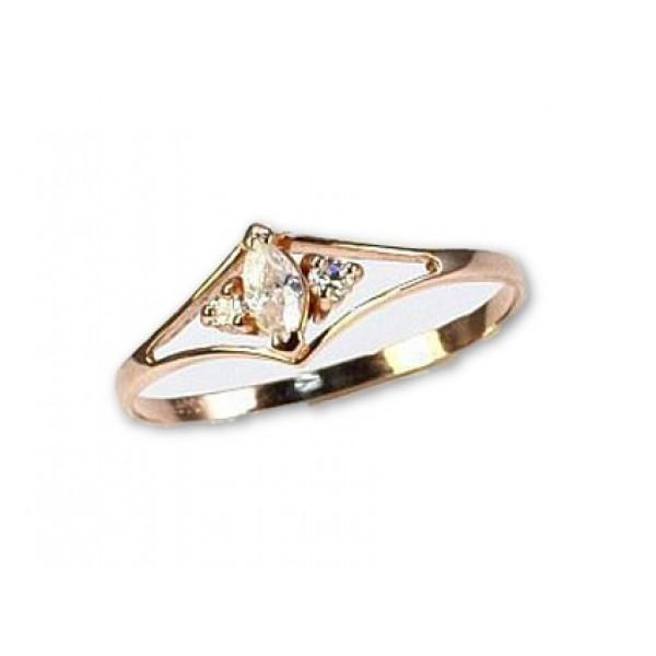"Zelta gredzens ""Romana"" no 585 proves sarkanā zelta"