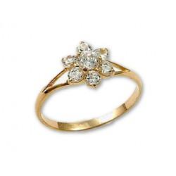 """Zelta gredzens """"Zelta Zieds"""" no 585 proves sarkanā zelta"""