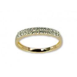 "Zelta gredzens ""Babilona VI"" no 585 proves sarkanā zelta"