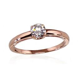 "Zelta gredzens ""Klasika Gold IV"" no 585 proves sarkanā zelta"