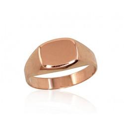 """Vīriešu zelta gredzens """"Augstmanis V"""" no 585 proves sarkanā zelta"""