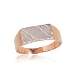 "Vīriešu zelta gredzens ""Atlants II"" no 585 proves sarkanā zelta"