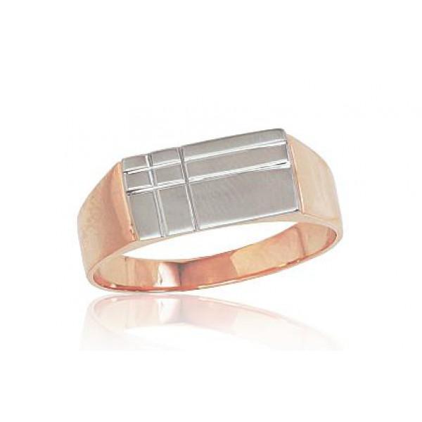 """Vīriešu zelta gredzens """"Atlants"""" no 585 proves sarkanā zelta"""