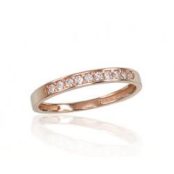 """Zelta gredzens """"Tokija XVI"""" no 585 proves sarkanā zelta"""