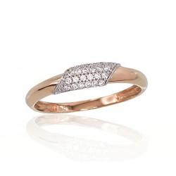 "Zelta gredzens ""Hestia"" no 585 proves sarkanā zelta"