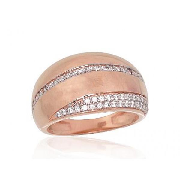 """Zelta gredzens """"Sfēra"""" no 585 proves sarkanā zelta"""