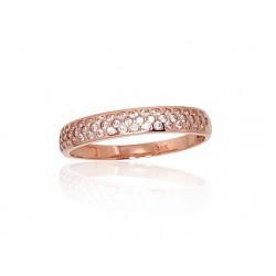 "Zelta gredzens ""Zvaigžņotās Debesis II"" no 585 proves sarkanā zelta"