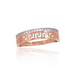 """Zelta gredzens """"Artemīda II"""" no 585 proves sarkanā zelta"""