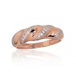 "Zelta gredzens ""Amoroso VI"" no 585 proves sarkanā zelta"