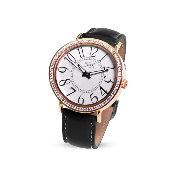 """Sieviešu pulkstenis """"Vilnis II"""" ar Swarovski™ kristāliem"""