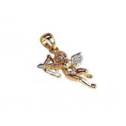"Zelta kulons ""Eņģelis III"" no 585 proves sarkanā zelta"
