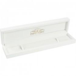 Glancēta koka kastīte aprocei ar Diamond Sky logotipu